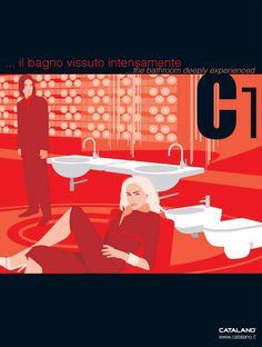 Advertising Catalano 2004, Illustrazioni di Antonio Cau