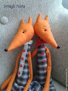 Лисы - рыжий,лис,лиса,игрушка ручной работы,интерьерная игрушка,интерьерная кукла
