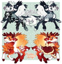 Christmas Pouflon Batch!!! (closed) by tyronniesaur