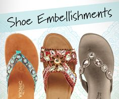 There's no such thing as shoes that have too much personality. Our FootSmart blog lists eight shoe embellishments for you to pull together to spin your own fascinating footwear tale.
