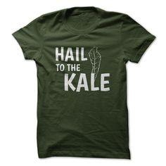 (Top 10 Tshirt) Hail To The Kale Tee [Tshirt Best Selling] Hoodies