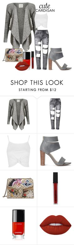 """""""Ripe"""" by xyz-affairs ❤ liked on Polyvore featuring Superdry, Topshop, Splendid, Gucci, Smashbox, Chanel, Lime Crime, cutecardigan and springlayers"""