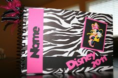 Personalized Disney Autograph Book ~ Emma would LOVE this one!