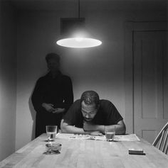 """Kitchen Table Series."" ~ Carrie Mae Weems"
