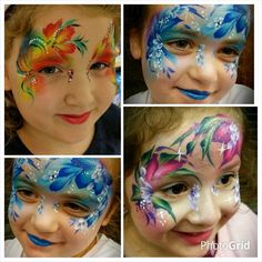 Flower-Mask by Karen Harvey