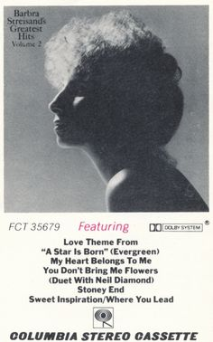Barbra Streisand Quot Greatest Hits Volume 2 Quot 1978
