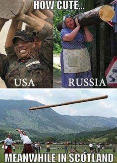 How cute USA vs Russia vs Scotland - http://www.jokideo.com/cute-usa-vs-russia-vs-scotland/