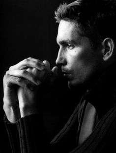 "My current 44-year-old ""person of interest,"" Jesus Christ.   I mean Jim Caviezel."