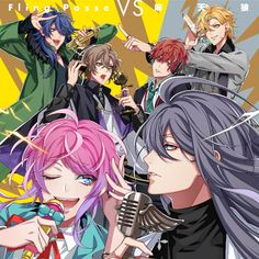 Hypnosis Mic unveil cover art for Fling Posse VS Matenro's match-up Anime Guys, Manga Anime, Tracing Art, All Star, Otaku, Dark Drawings, Rap Battle, Division, Cover Art