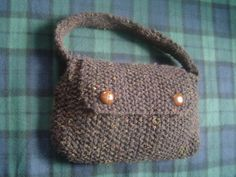 Free Knitting Pattern - Bags, Purses & Totes: Strapping Young Lad Bag