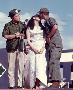 A blast from the past for all veterans. Miss World from Bob Hopes's 1967 Vietnam tour.