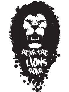 Lion roar vector - photo#20