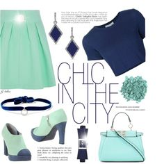 How To Wear 184. Chic in the City Outfit Idea 2017 - Fashion Trends Ready To Wear For Plus Size, Curvy Women Over 20, 30, 40, 50