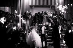 Sending off bride and groom   itakeyou.co.uk #weddingphoto #musttakephoto #weddingphotoideas