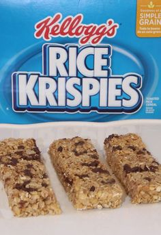 No-Bake Granola Bars with Kellogg's Rice Krispies. Quick and easy! You can make & eat these the very same morning. #FueledForSchool #ad