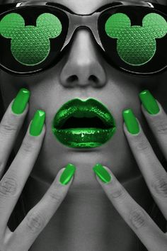 Splash of Green