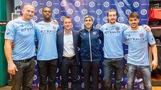 Saunder, Kwame, Tim, Claudio, Jeb, David Villa. NYCFC