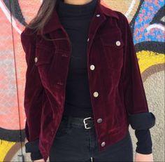 throwback fashion, velvet, jacket, vintage, hipster | TheHunt.com