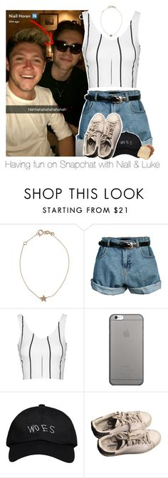 """""""Having fun on Snapchat with Niall & Luke"""" by bx-sxnnt ❤ liked on Polyvore featuring Kismet, Retrò, Topshop, Native Union, October's Very Own and adidas"""