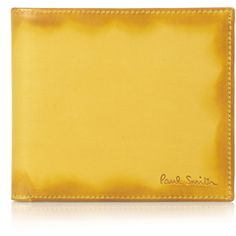 Paul Smith Accessories Burnished Leather Wallet ($190) ❤ liked on Polyvore