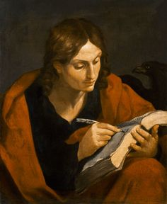 John the Evangelist Art Print by Guido Reni by Guido Reni : Fine Art Catholic Art, Catholic Saints, Religious Art, Religious Paintings, Sons Of Zebedee, St John The Evangelist, Marc Chagall, Italian Painters, Sacred Art
