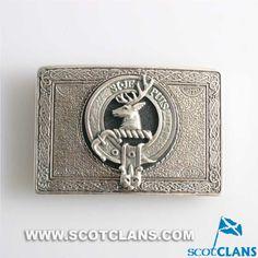 Colquhoun Clan Crest Belt Buckle