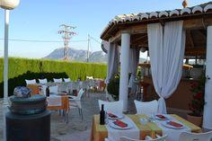 Para días como hoy, ven a disfrutar de nuestra terraza y gastronomía. SAN GIUSEPPE reservas: 966 43 21 72
