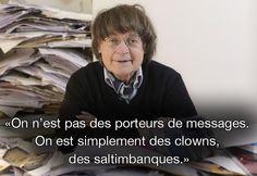 Dix citations de Cabu, Charb, Wolinski et Tignous à ne pas oublier - Cabu 12/12/2014