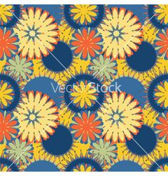 Seamless pattern vector by tiff20 on VectorStock®
