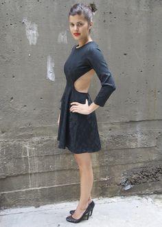 LBD #1: DIY Cut Out Back Minidress « a pair & a spare