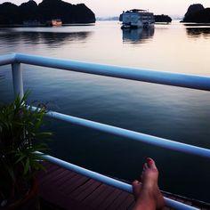 29.05: sunrise over Ha Long Bay