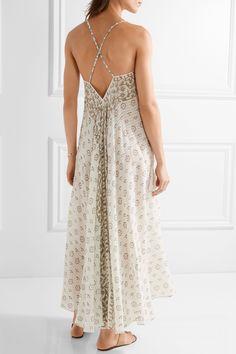 Mes Demoiselles | Java printed cotton-gauze maxi dress | NET-A-PORTER.COM
