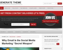 Generate WordPress Theme