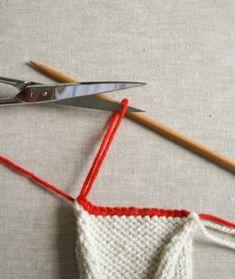 Bind Off - Knitting Tutorials Bind Off Knitting, Knitting Help, 3 Needle Bind Off, Purl Bee, Purl Soho, Fiber Art, Knit Crochet, Weaving, Create