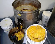 Processing Beeswax