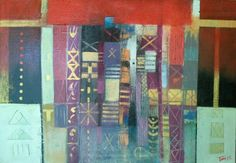 Segni  100x85 cm su tela Luigi Torre painter 2015 Luigi, Quilts, Blanket, Abstract, Painting, Art, Canvas, Towers, Art Background