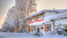 Hotel Aakenus in Rovaniemi in Lapland (in Finland) is a nice family hotel.