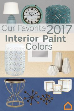 Whether you are painting your entire home or just one room, we have you covered wall to wall with our favorite interior paint colors.