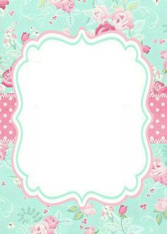 This Pin was discovered by GLO Borders For Paper, Borders And Frames, Diy Invitations, Invitation Design, Baptism Invitations, Invites, Scrapbook Paper, Scrapbooking, Printable Frames