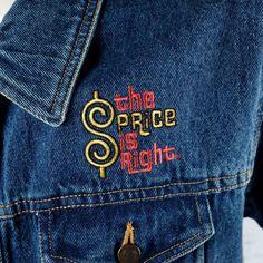 The Price is Right TV Show Denim Jean Jacket XL Blue Embroidered Logo Vintage | eBay Logo Vintage, Love Jeans, Jean Skirt, Jean Jackets, Vintage Accessories, Tv Shows, Menswear, Denim, Stylish