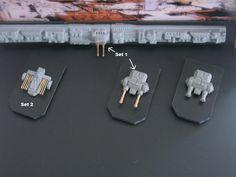 1:2256 and 1:2222 Detail sets for Venator and Avenger Star Destroyer - Resin Illuminati