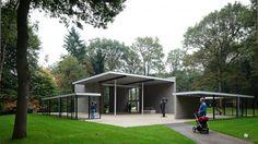 Rietveld Pavilion at the Kröller-Müller Sculpture Garden