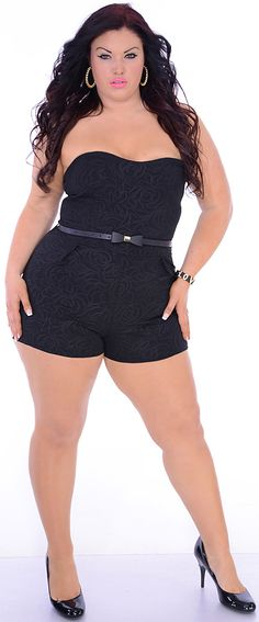 Lunge (Plus)-Great Glam is the web's best sexy plus size online store clothing website for 1X 2X and 3X clothes for women and juniors.