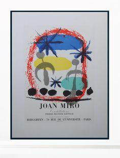 (1) Joan Miró Vintage Print - Original Lithograph 1959 – Art & Vintage Store Ltd