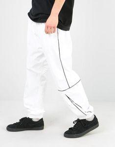 417f255d5200 Nike SB Swoosh Track Pant - White Black Black