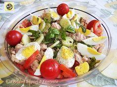 Insalata di verdure e tonno con uova sode Blog Profumi Sapori & Fantasia