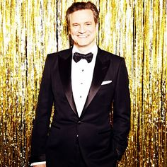 Colin Firth at the 2015 #goldenglobes (Photo by @ellenvonunwerth)