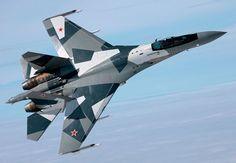 Sukhoi Su-35 Russian Multi-Role Fighter Jet