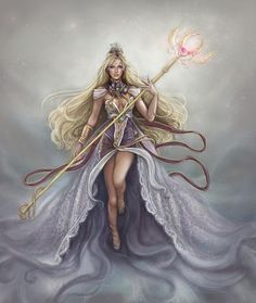 Laima - Latvian Goddess of human destiny.  She is is the personification of luck and fate...both good and bad.