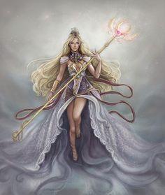 Laima deusa Letã do destino. É a personificação da sorte e fortuna boa o má.
